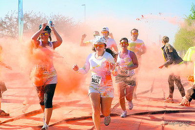 These are from the Color Me Rad run in Council Bluffs, IA in the early summer of 2013!