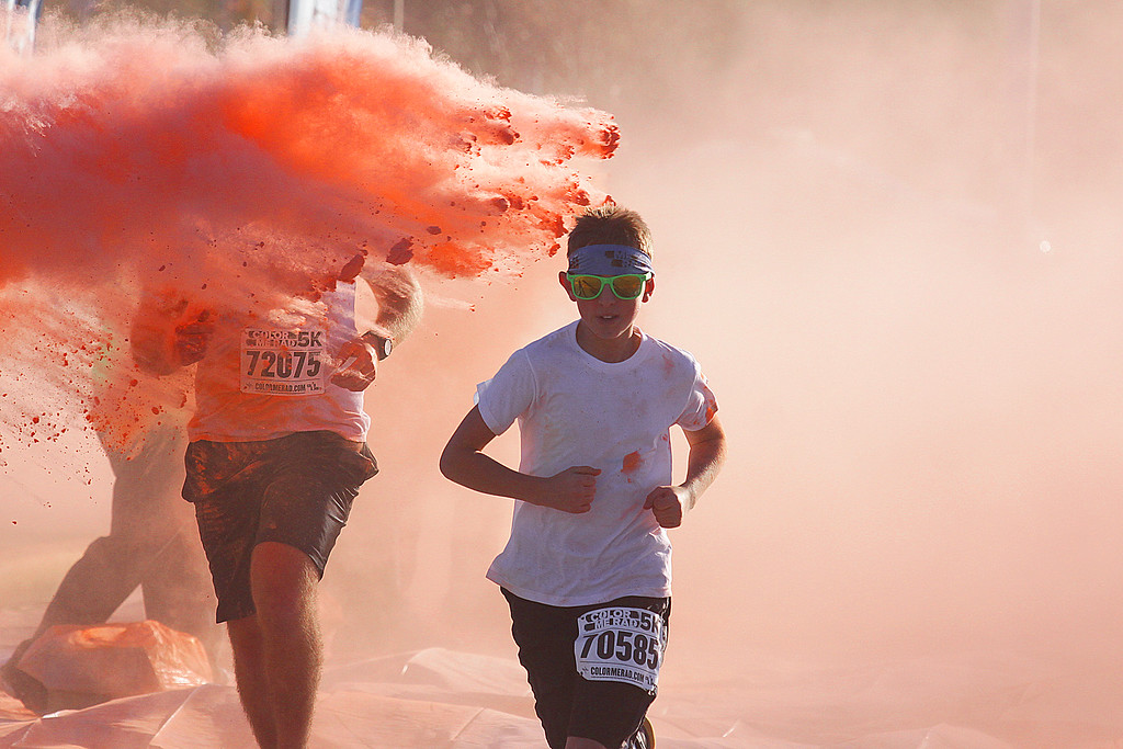 These are from the Color Me Rad run in Sioux City, IA in the fall of 2013!