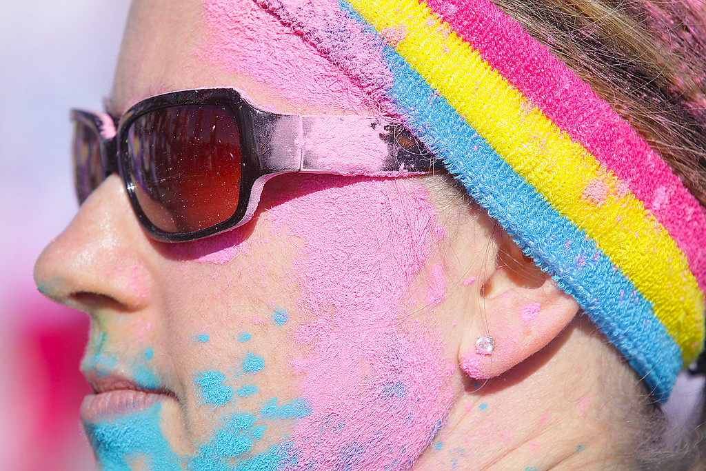 These are from the Color Run  from Manhattan, KS. during the summer of 2014!