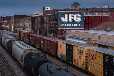 coffee and trains