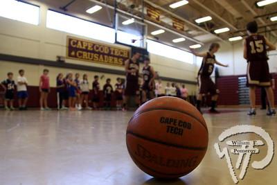 CAPE COD REG. TECH HIGH SCHOOL — basketball with santa . . . annual clinic — 12 . 15 - 2012