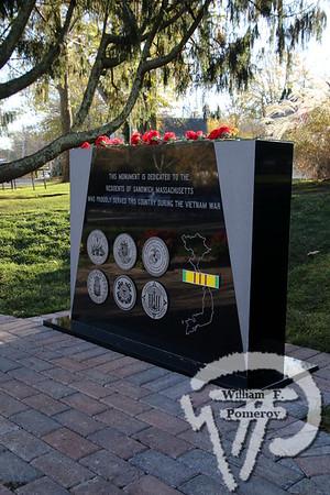 VIETNAM WAR MEMORIAL — eaton square — Sandwich, MA 11 . 11 - 2018