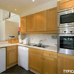 This is typical of the fully-equipped kitchen you are likely to find.