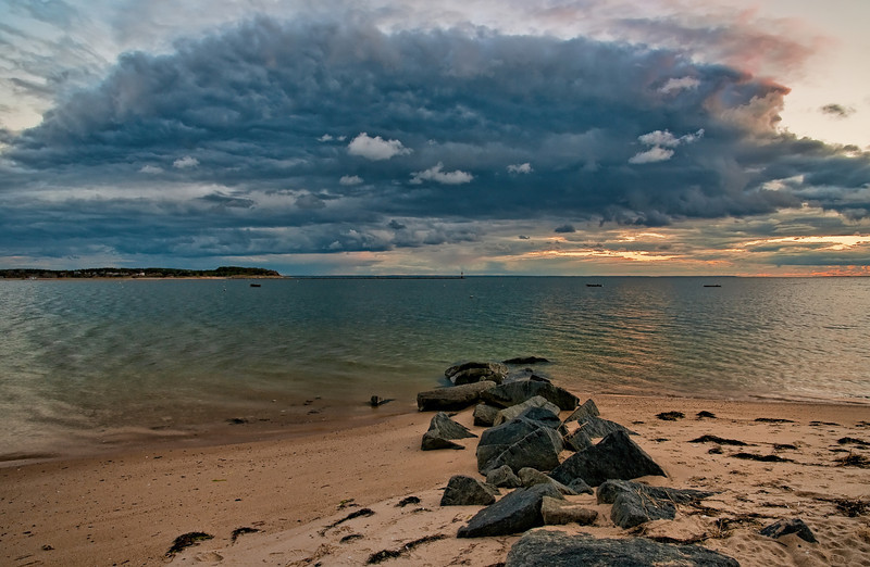 Gathering Clouds<br /> Mayo Beach is one of my favorite places on Cape Cod. The clouds formations are really something special.