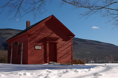 Old Vermont Schoolhouse...
