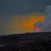 Volcano Sunset Glow