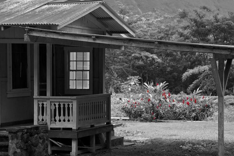 Red Flower House, Waipio Valley, HI