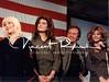 Anne Jillian, Brooke Shields, Vic Demone and Miss. USA Julie Hyack. USO 1983