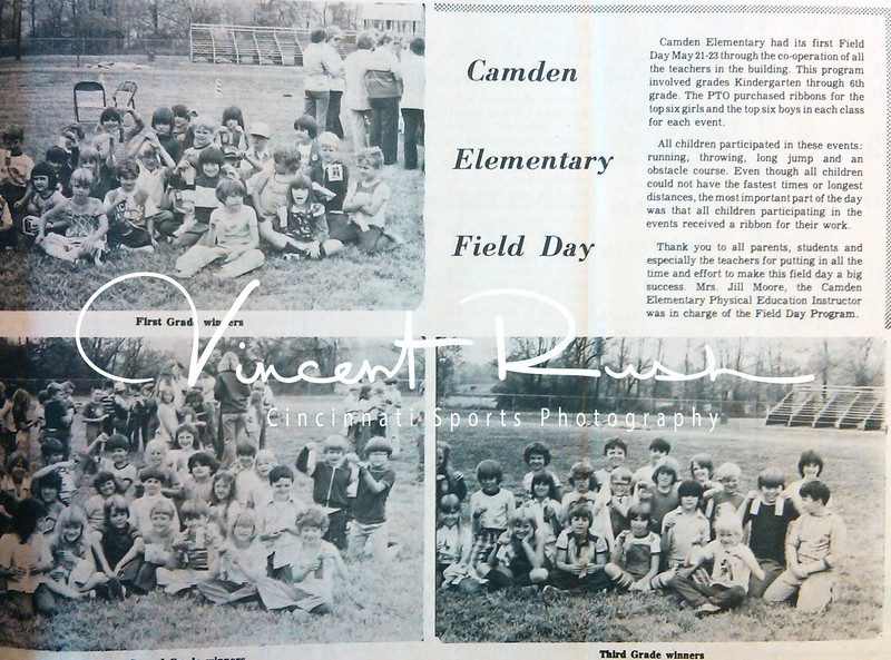 From the archives of The Preble County News of Camden Ohio in Preble County Ohio. All archived photographs pulled from the Preble County Geneology Center in Eaton, Ohio by Vincent Rush of Cincinnati Sports Photography