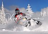 Polaris Snowmobile action shots in West yellowstone Montana by Vincent Rush and Cincinnati Sports Photography