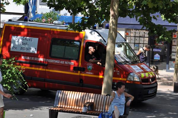 Île Sainte-Marguerite (  Cannes, France ) Fire Department