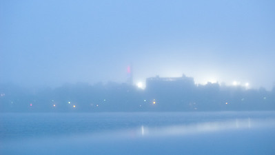 Fenway Fog8:01 PM / May /Memorial DriveRainy cold foggy night