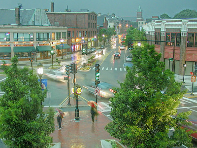 Summer Scurry	6:19 PM / June / Medford Sq.	Summer thunder storm