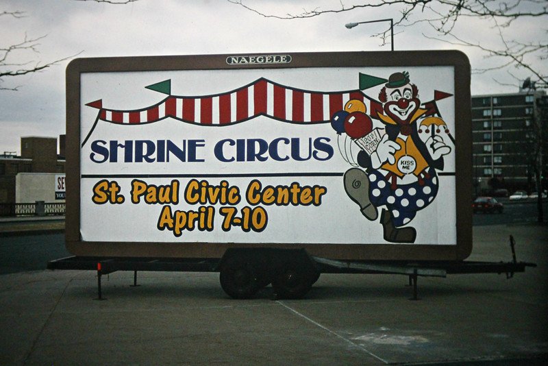 St. Paul, MN; Shrine Circus