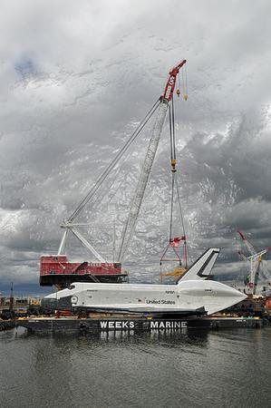 06/05 & 06/06/12 - Shuttle Enterprise - Jersey City, NJ.