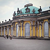 Potsdam, Germany; Schloss San Souci