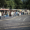 Erfurt, Germany; outdoor market