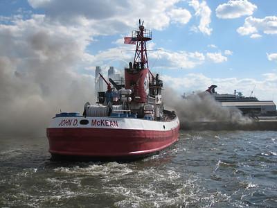 09.04.10 - Third Alarm(Pier Fire) - Manhattan, NY