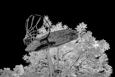 "MONTH 10:  Infrared with A6000, Week 3, ""Vintage Basket"""