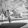 "MONTH 10:  Infrared with A6000, Week 2, ""Cyclist"""