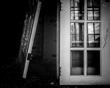 """MONTH 6:  Week 3:  Topic:  Favorite Places in Newtown:   """"Peeking inside an Abandoned Building at Fairfield Hills."""""""