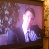 Bones night.  I went to Tracey's to watch it on her big TV.