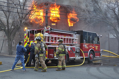 12.17.11 - Third Alarm - Hoboken, NJ.