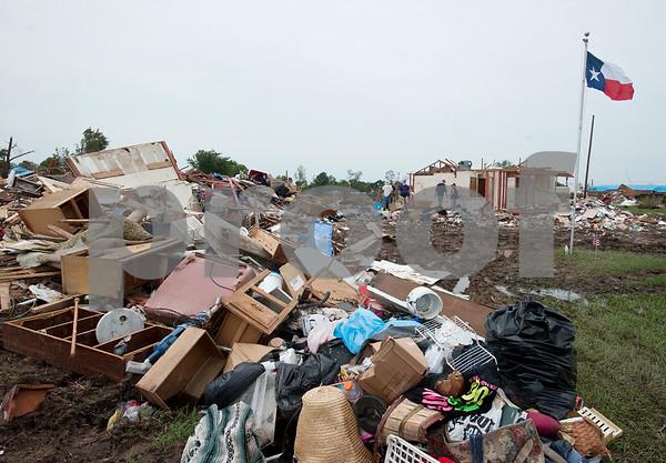 Van Tornado Clean Up