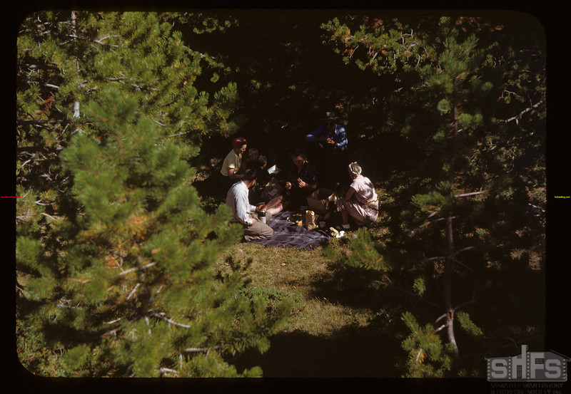 Having a picnic in Cypress Hills Park	 Cypress Hills	 08/27/1948