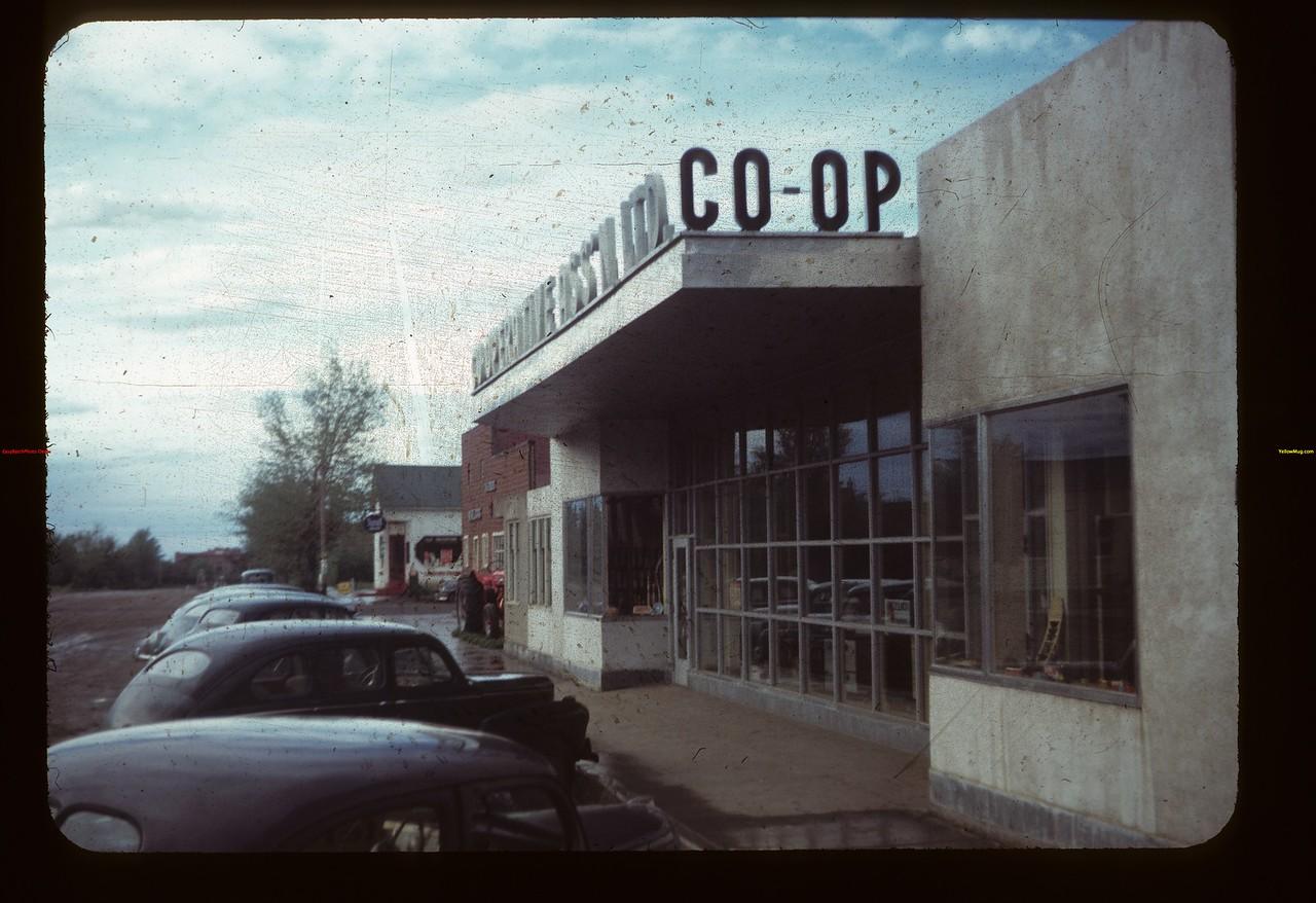 Front Lashburn Co-op Store Lashburn 07/21/1949