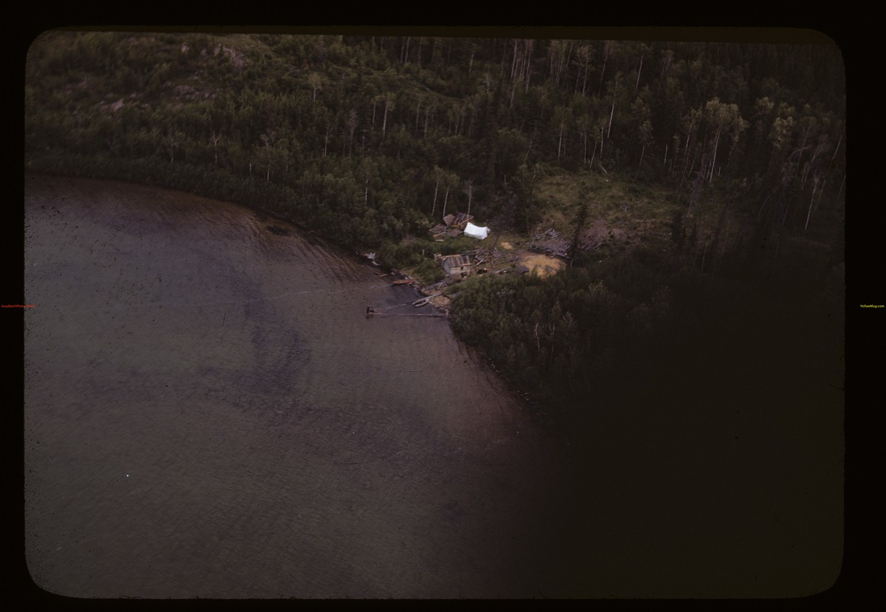Indian camp from the air. Beaver Lake 06/21/1946