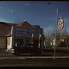 Kindersley Co-op Filling Station. Kindersley.  01/06/1947