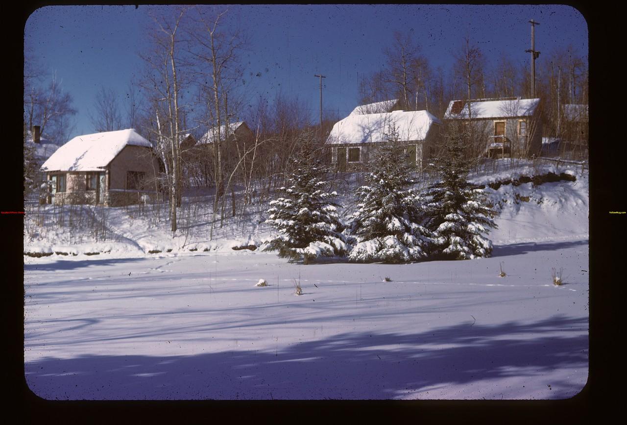 West cottages Kenosse Chalet. Y-T-S. Kenosse Lake 11/26/1946