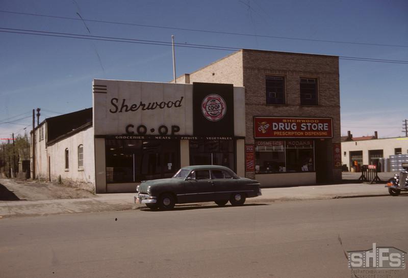 Co-op block in Regina.  Regina.  07/20/1946