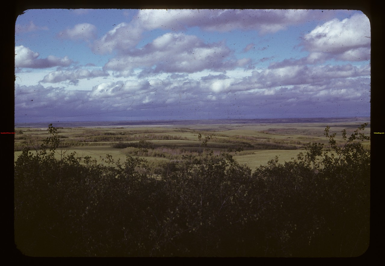 View from Cutknife mounument hill - Poundmaker reserve	 Admiral	 06/18/1942