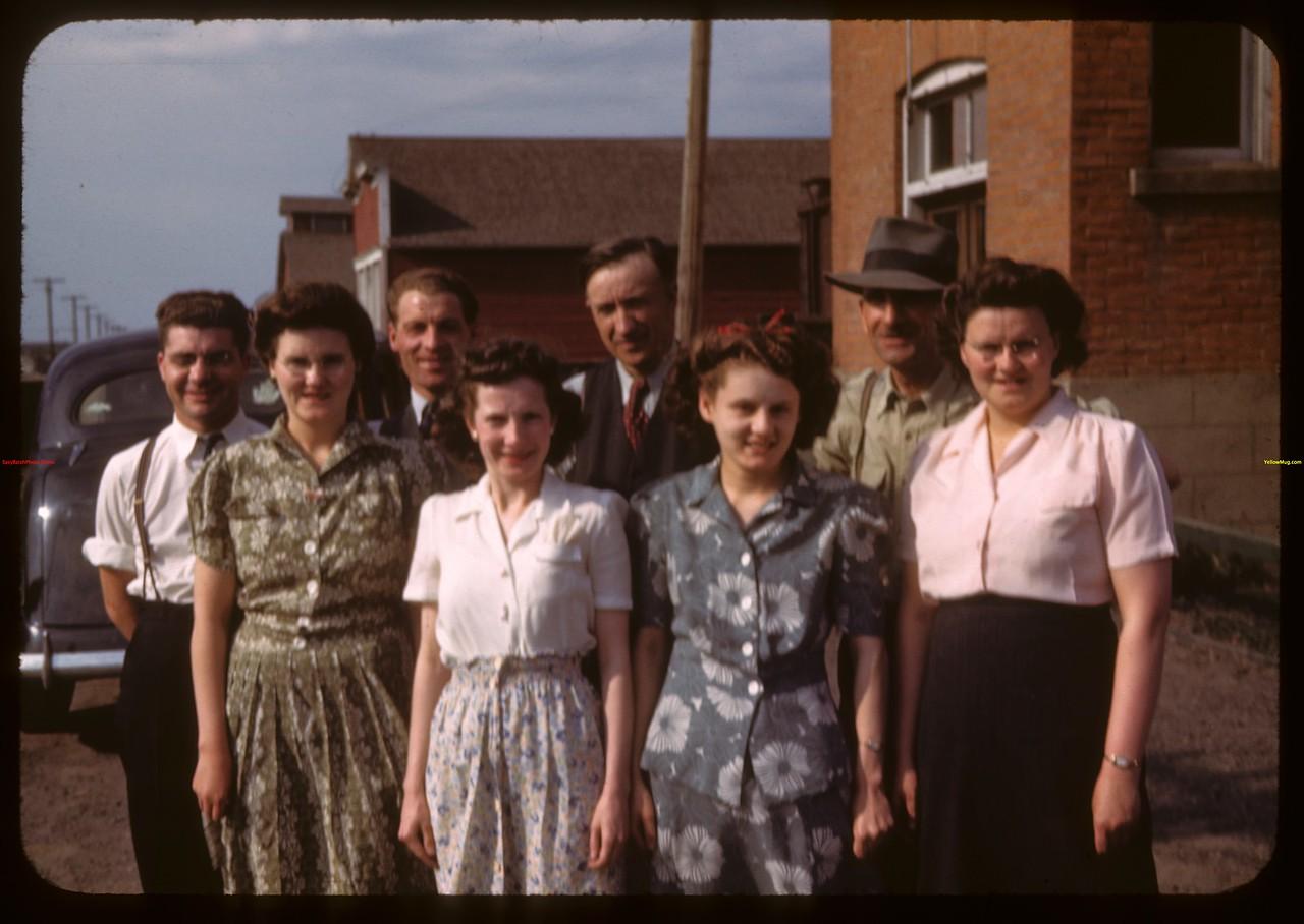 L.S. Pool office staff.  Prince Albert.  05/30/1944