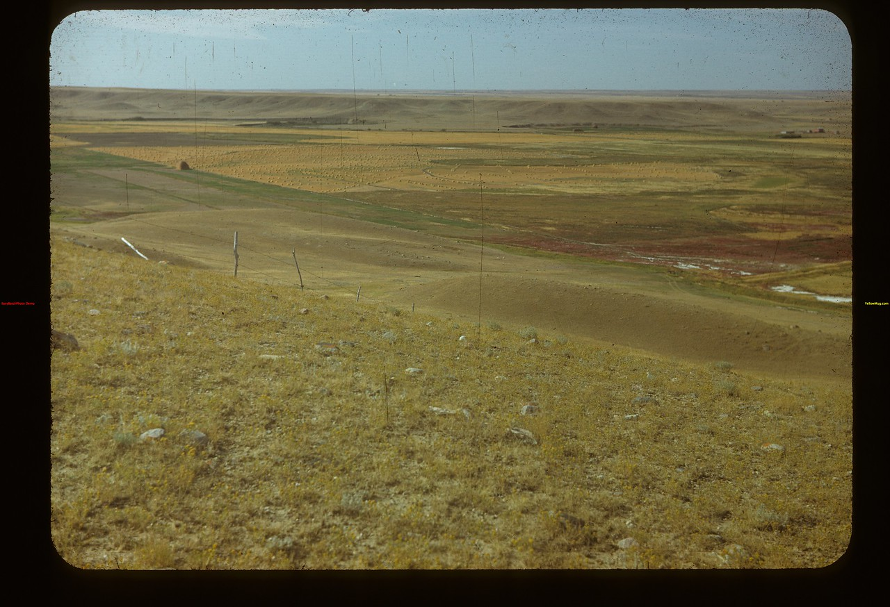 White Mud (Frenchman). Irrigation Project from Hill	 Eastend	 09/03/1948