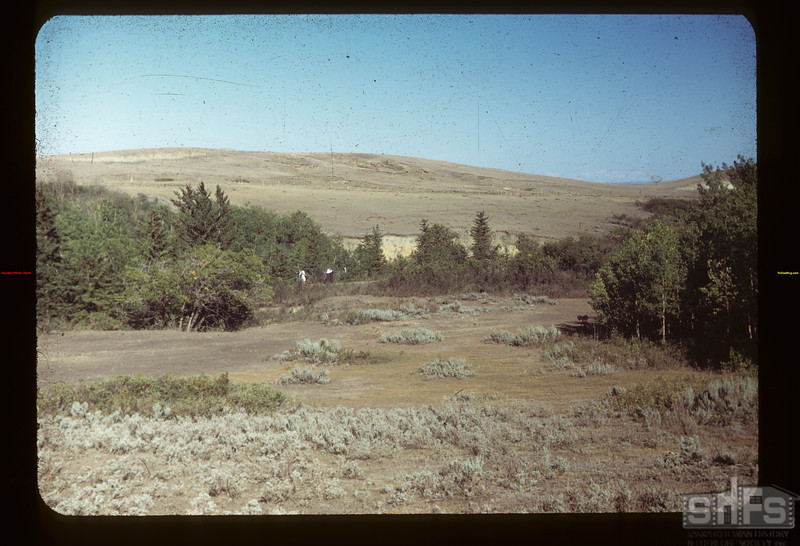 Chimney Coulee. N.W.M.P. Post here before N. of Eastend	 Eastend	 08/14/1949