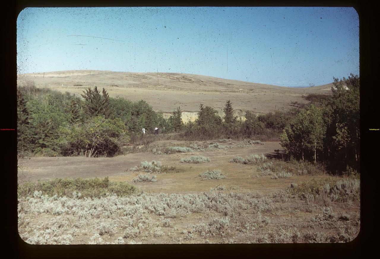 Chimney Coulee. N.W.M.P. Post here before N. of Eastend Eastend 08/14/1949