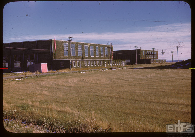 North Battleford airport - Hanger IV.  North Battleford.  10/06/1946