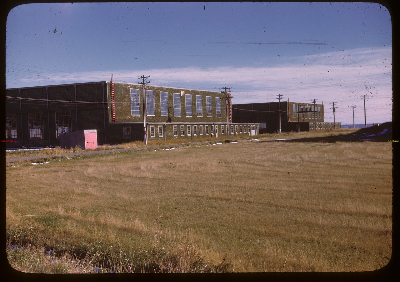 North Battleford airport - Hanger IV.  North Battleford.  10/06/1946