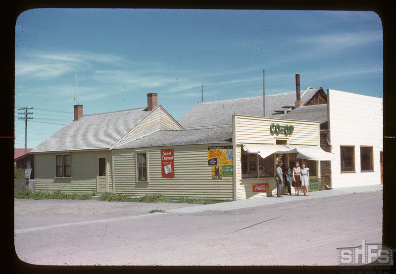 Colonsay Co-op store	Colonsay	 07/13/1946
