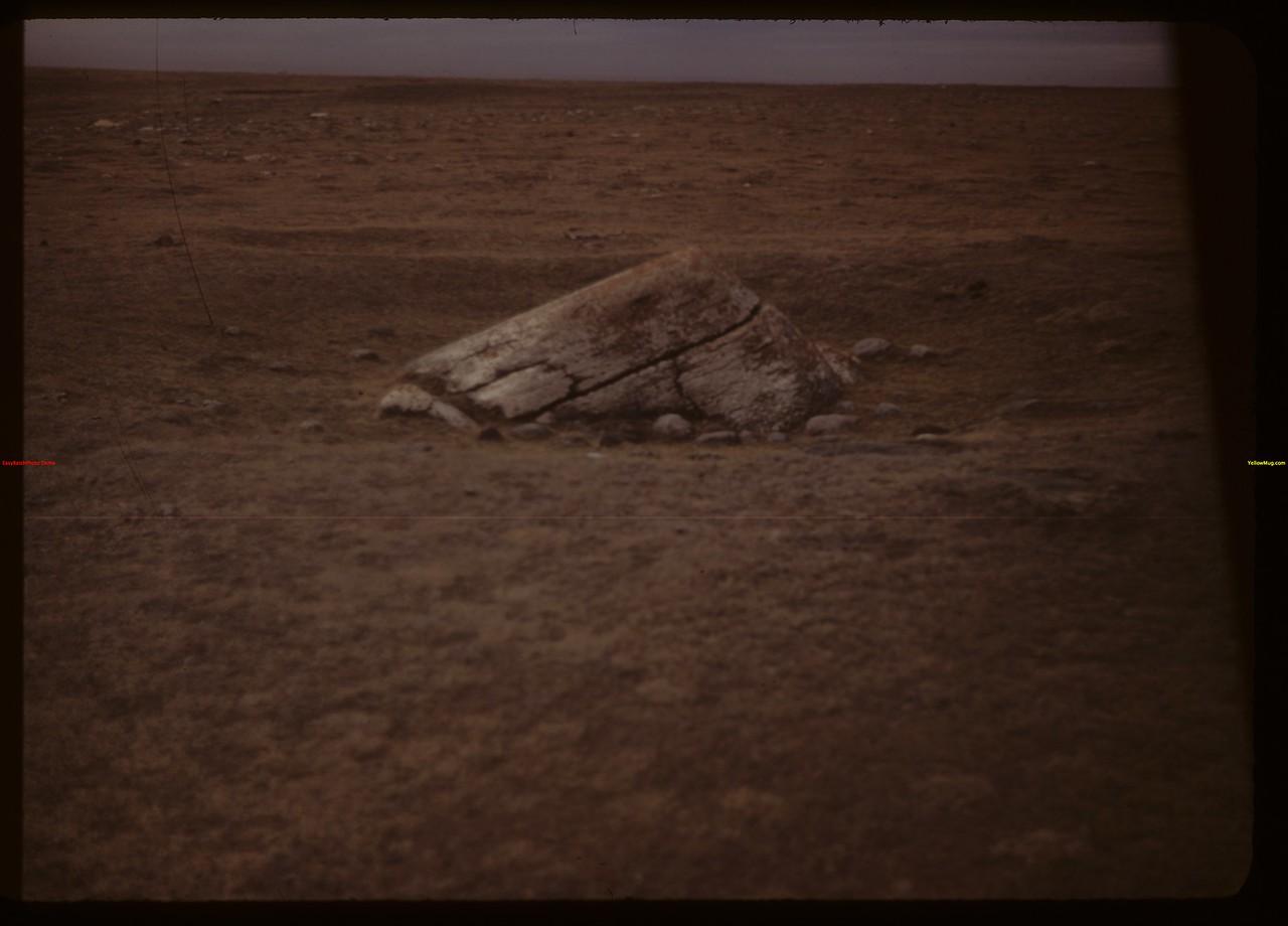 Buffalo wallow? NE of Moose Jaw. Moose Jaw 09/25/1949