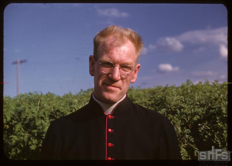 Pt. Rev. M. Baudoux D.P..  Prudhomme.  06/07/1947