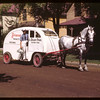 Prince Albert horse drawn dairy pool delivery..  Prince Albert.  06/18/1946