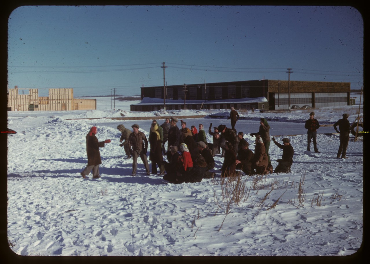 Instructions for Relay - Youth Training school.  North Battleford.  02/02/1948
