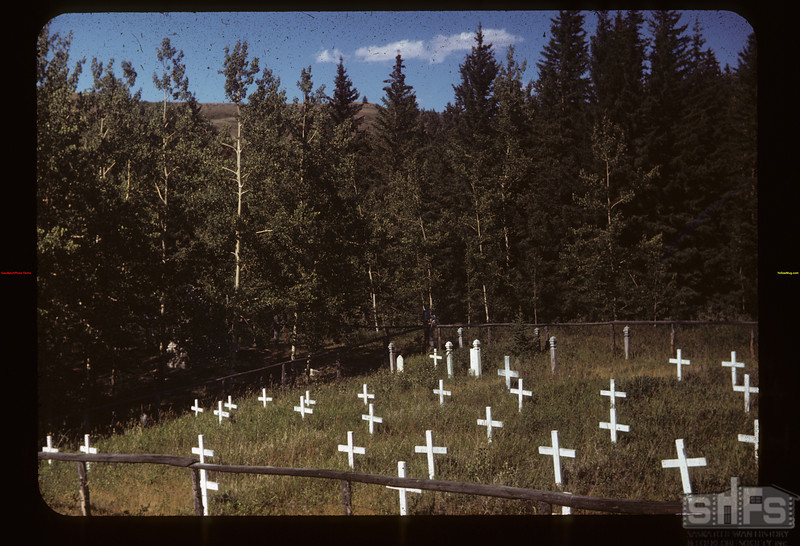 Civilian cemetery south of Mounted Police cemetery	 Fort Walsh	 08/13/1949