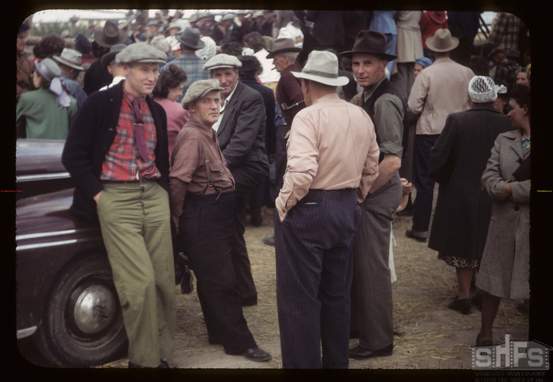 Wheat Pool at fat Stock Show & Sale. Eastend. 06/01/1949