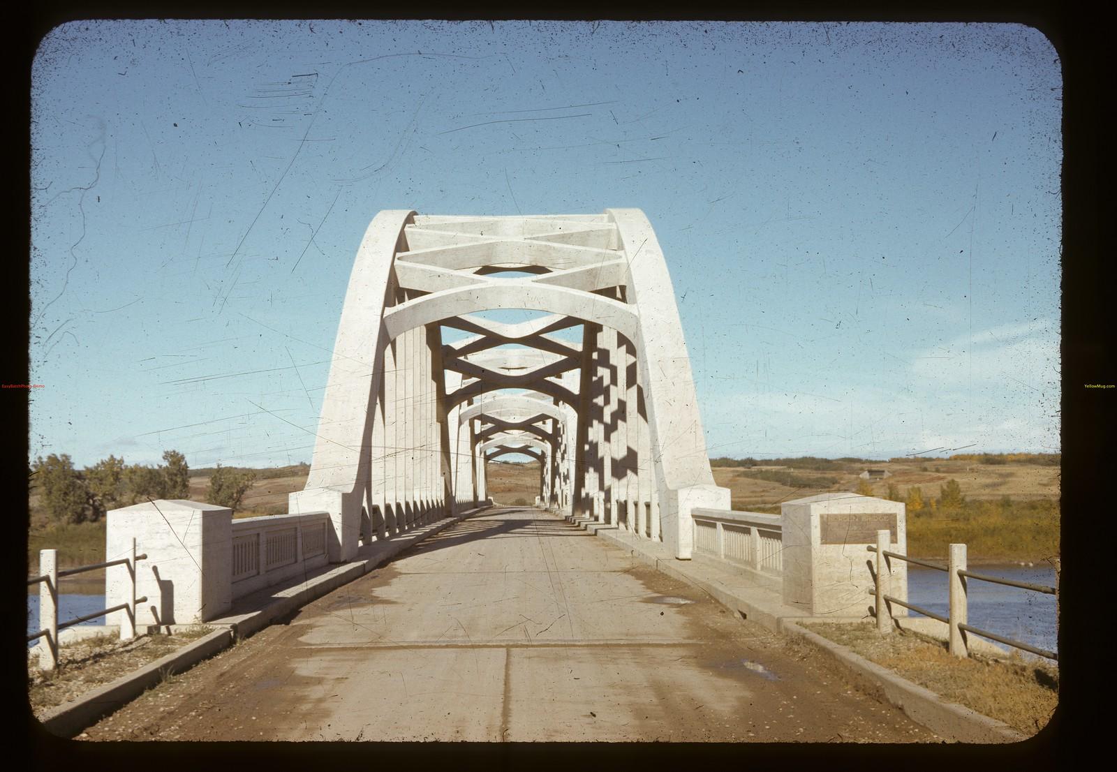 Borden Bridge. North Saskatchewan River. 09/15/1941
