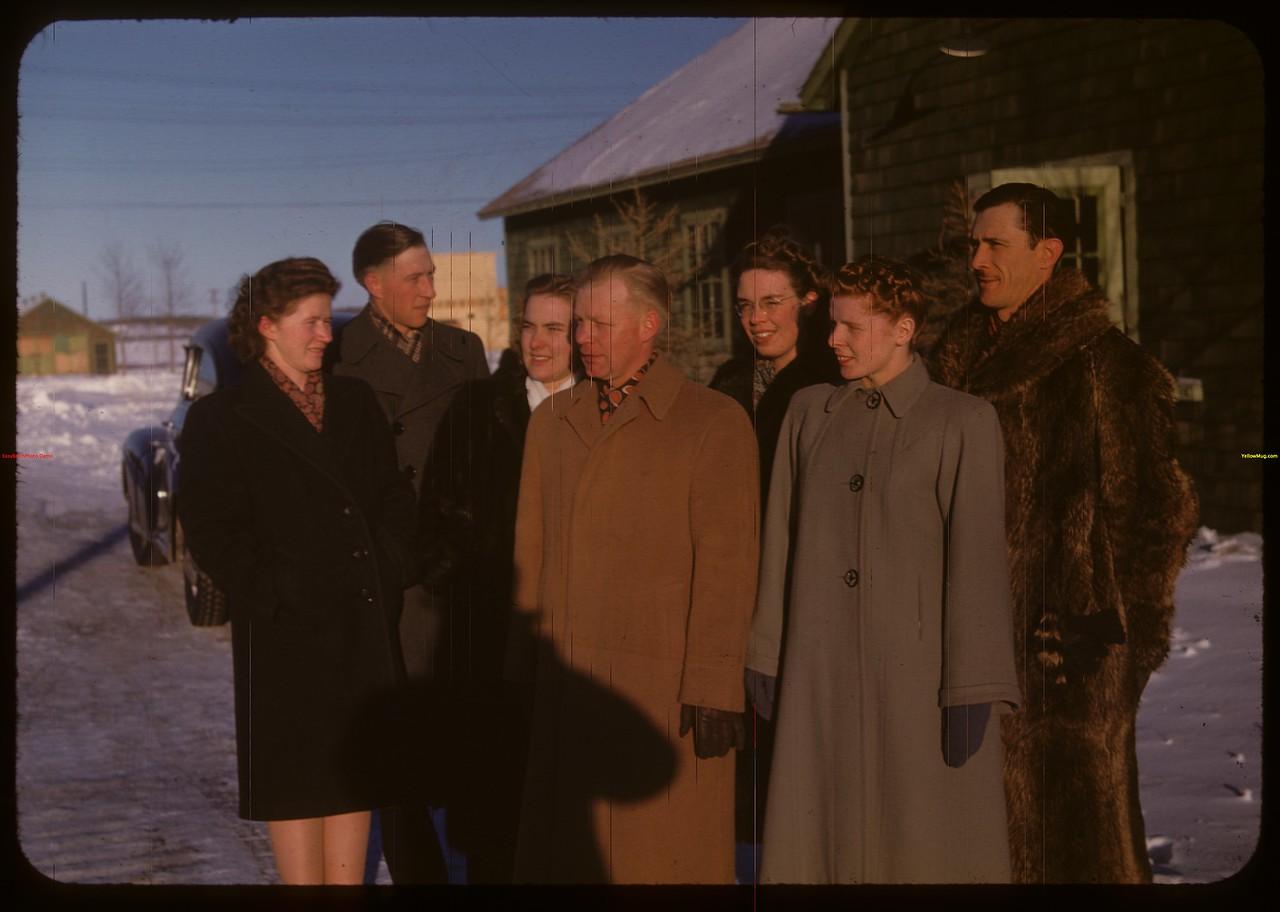 Staff - Youth Training School.  North Battleford.  02/01/1948